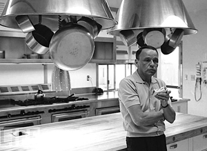 Blog 10, Photo, Frank Sinatra in Gourmet Kitchen, Virtual Gourmet-2